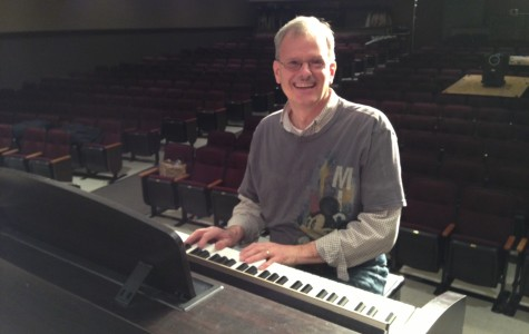 Mr. Bower Prepares to Direct Final Musical