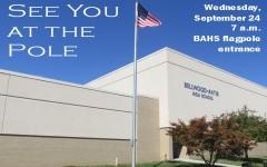 See You at the Pole tomorrow at B-A
