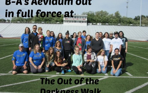 B-A's Aevidum supports the Out of the Darkness Walk