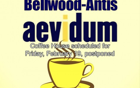 Aevidum and Musical Theatre Coffee House postponed