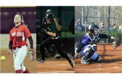 Softball stars take the college diamond