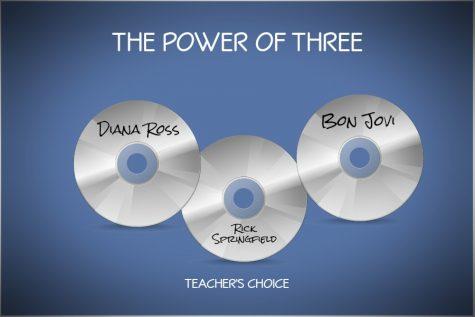 The Power of Three: songs teachers like