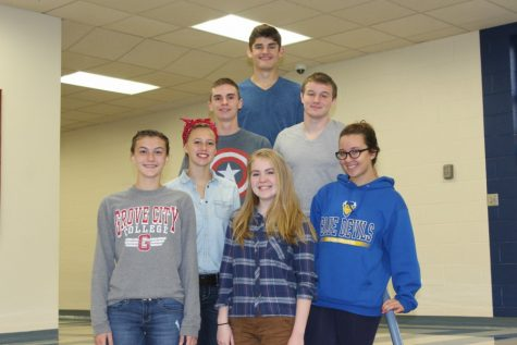 8 from B-A advance to District chorus