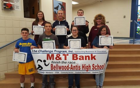 Bellwod-Antis High School kicks off the Challenge Program