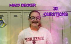 20 Questions: Macy Decker