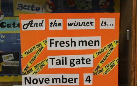 "Freshmen Win Nine Weeks ""Tailgate"" Party"