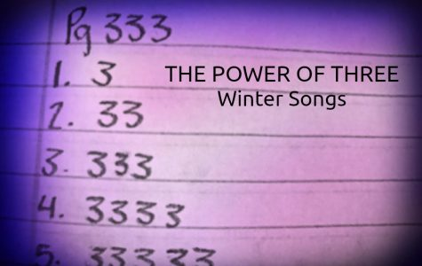 The Power of Three: Winter songs