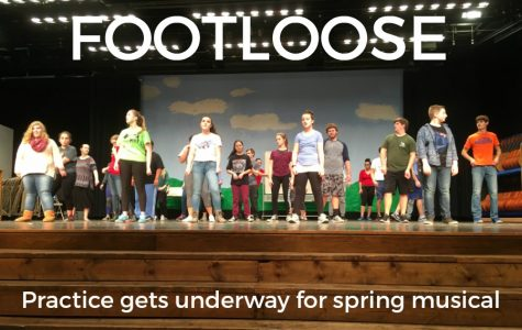 Footloose practices kick off