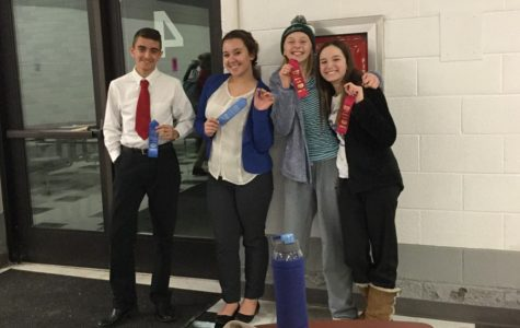 Kustaborder, Hornberger take first for speech team
