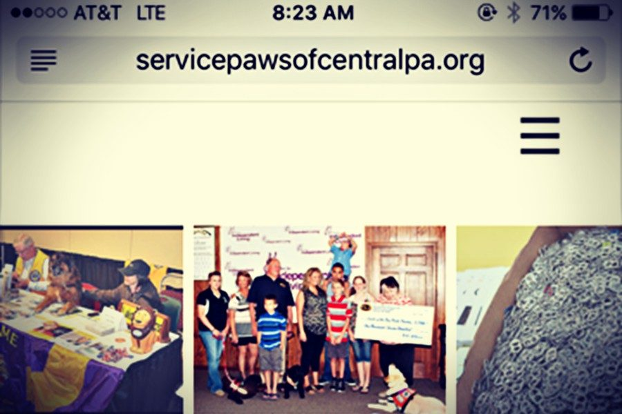 Service+Paws+for+Pets+recently+launched+a+new+website.