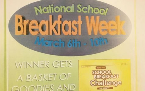 National Breakfast and Lunch week coming soon