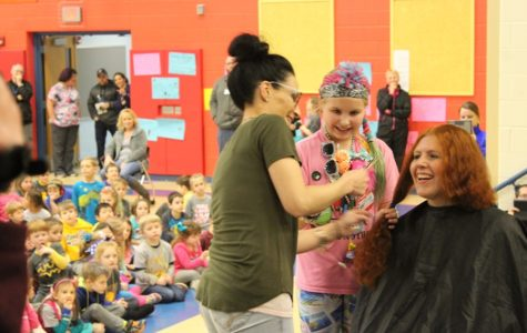 Ms. Murray shows Myers Elementary a cure in kindness
