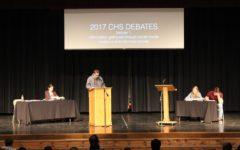 PHOTO STORY: CHS debates