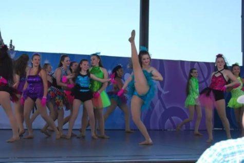 Jordyn Beam wins dance scholarship
