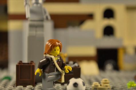 Sophomore creates own Lego video