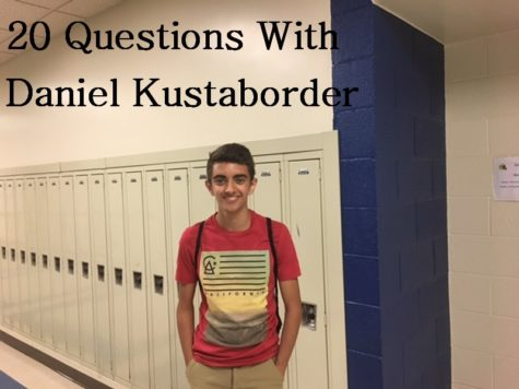 20 QUESTIONS: With Dan Kustaborder