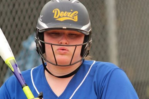 Softball team's streak comes to an end