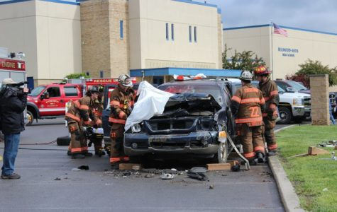 Mock accident presented by Excelsior Fire Department