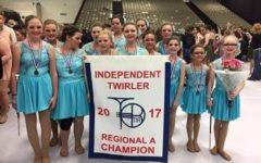 Twirling team named Atlantic Champions