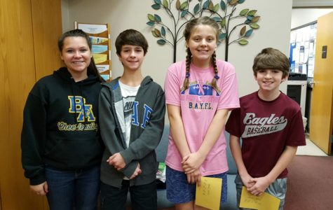 Final middle school Students of the Week announced