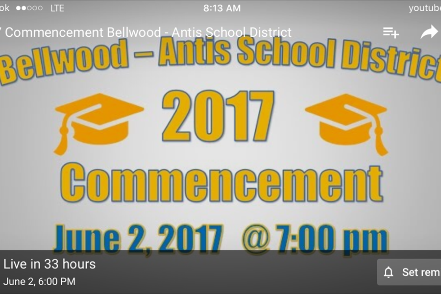 Tech Club, Blueprint prep Commencement broadcast