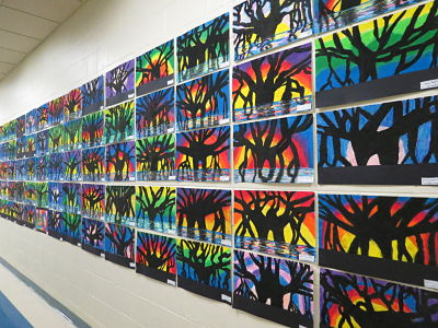 Arts Night Draws a Big Crowd