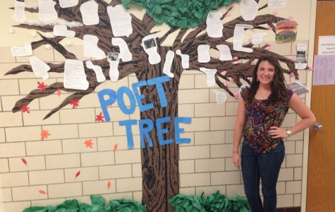 Poet-TREE Goes Up For National Poetry Month