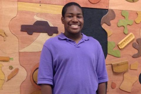 Light It Up Blue: Freshman Brandon Bickle