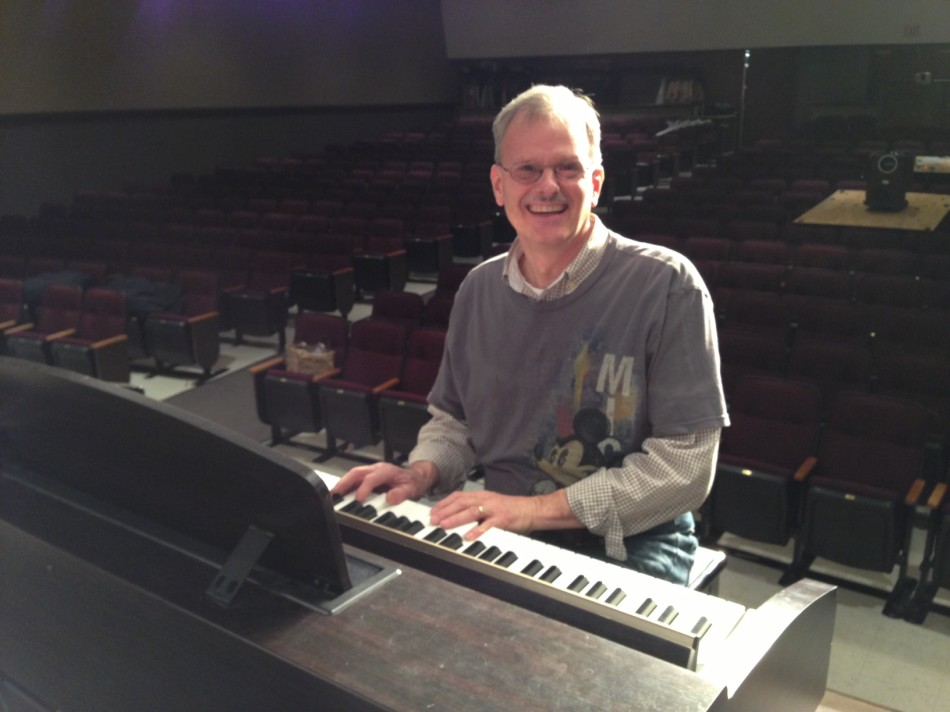 Mr.+Bower+Prepares+to+Direct+Final+Musical