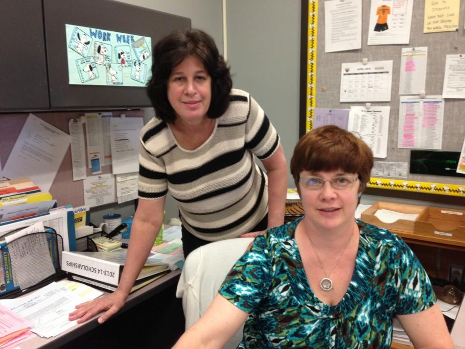 Mrs. Dees & Mrs. Chamberlain play an important role at B-A.