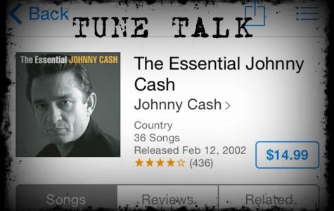 The man in black himself, Johnny Cash.