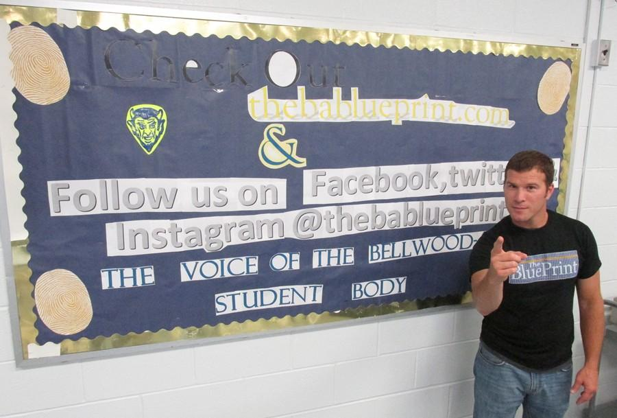 Mr. Naylor and the BluePrint staff want you ... to follow the BluePrint on social media.