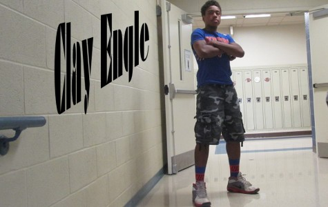 They don't come more laid back than freshman Clay Engle, who hopes to be one of Bellwood-Antis's top hoopsters someday.