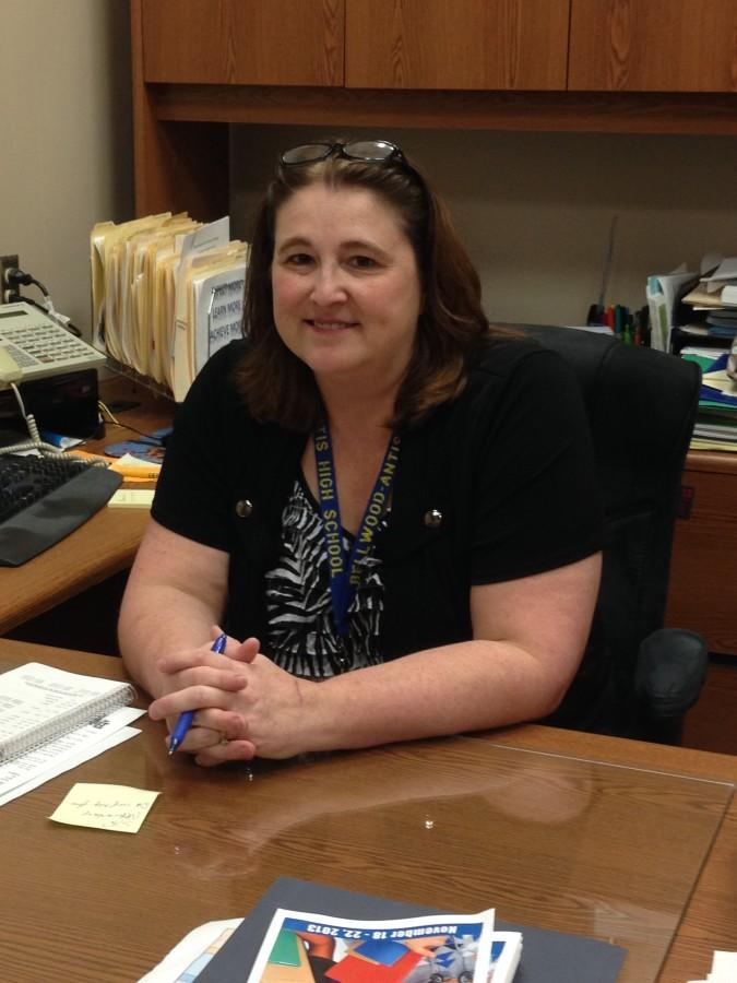 Lisa Hartsock has been the principal at Bellwood-Antis High School for two years.