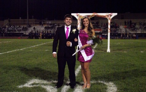 Paige Padula crowned Homecoming Queen!