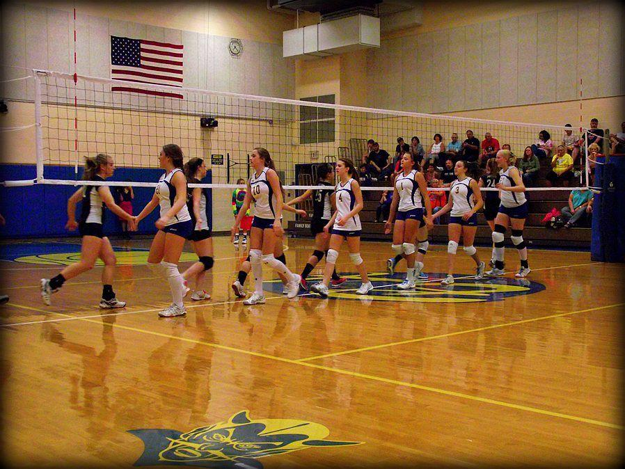 Lady Blue Devil spikers top Northern Bedford – The BluePrint
