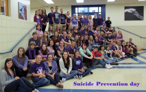 Bellwood-Antis Recgonizes Suicide Awareness