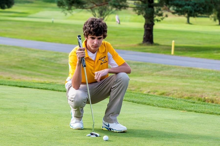 Adam Osborne shot a 157 over two days last week at the District 6 golf championships to become Bellwood-Antiss first qualifier for the Regional golf tournament.
