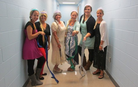 Myers students love teacher talent show