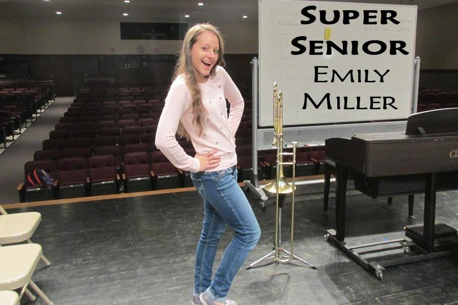 Emily Miller has dreams of making it big as a dancer.