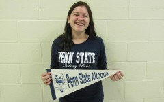 Penn State is definitely in the future plans of senior Emily Estright, who could be heading to University Park or Altoona Campus next fall.