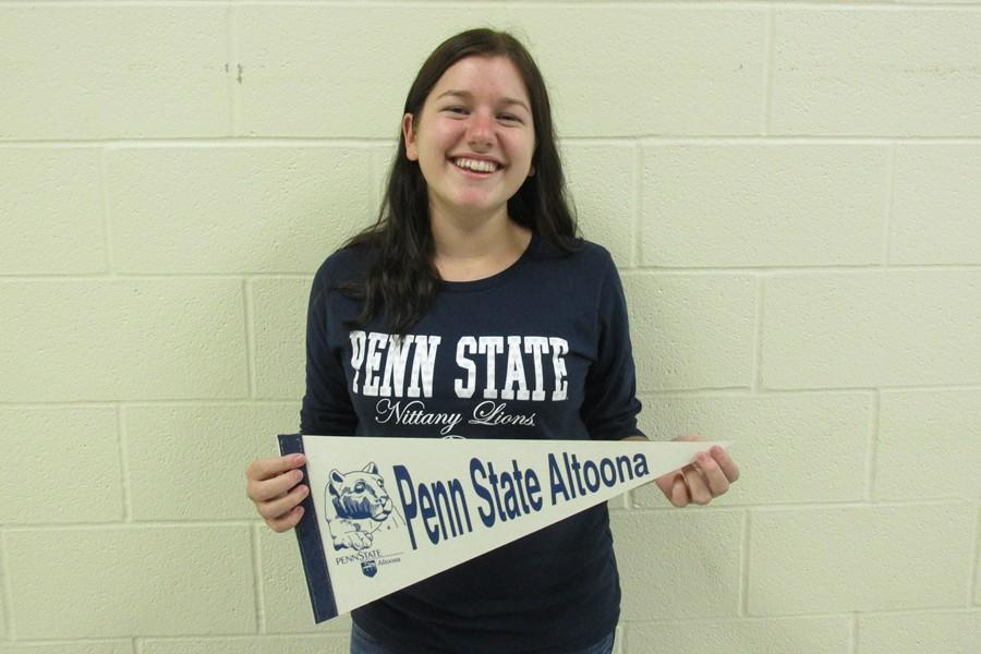 Penn+State+is+definitely+in+the+future+plans+of+senior+Emily+Estright%2C+who+could+be+heading+to+University+Park+or+Altoona+Campus+next+fall.