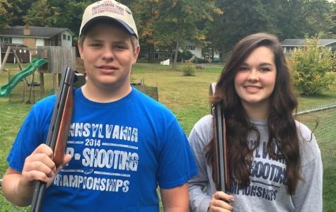 Jacob Hoover and Amanda Wertz, both sophomores at Bellwood-Antis,