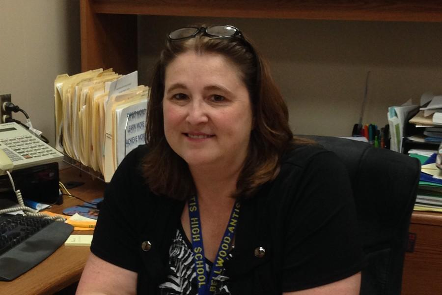 Lisa Hartsock began her career at Tyrone this week, but Mrs. Adams and Mr. Wagner are keeping the high school moving forward in her absence.