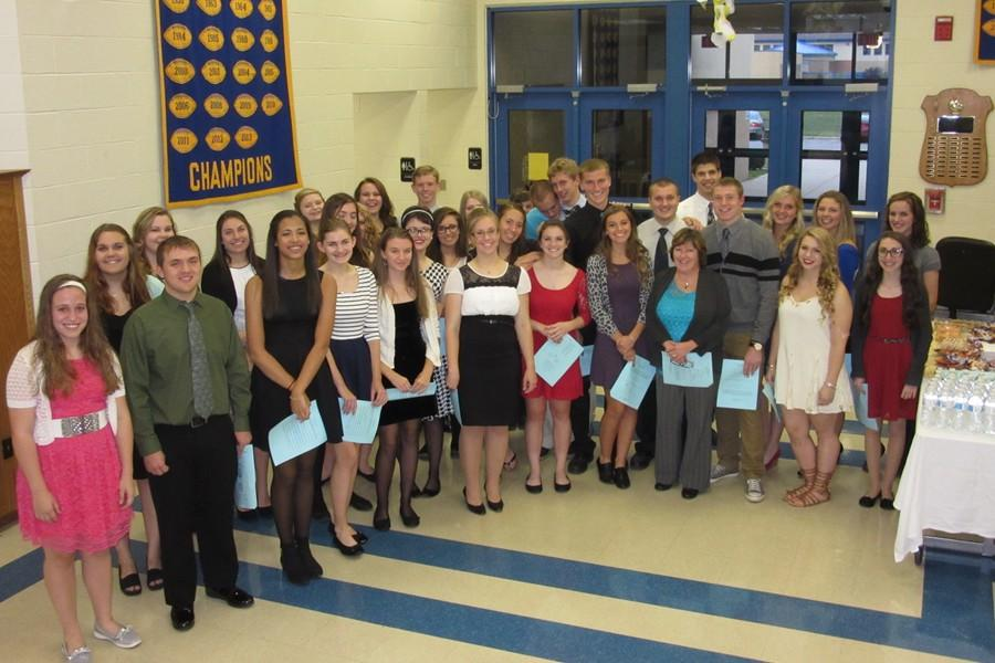 NHS recently held their annual induction ceremony.
