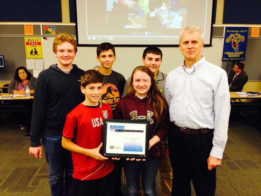 BAMS Tech Club earns statewide recognition