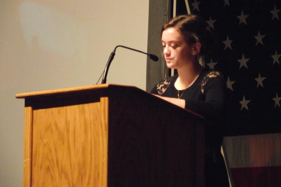 Veteran's Day Essay and Poem Winners