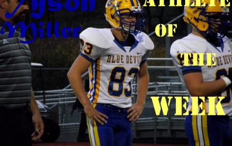Athlete of the Week: Tyson Miller