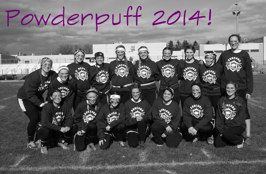 BAs annual powderpuff game!