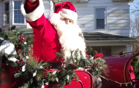 Pictures of the Christmas Parade and Yummy Soup Tasting